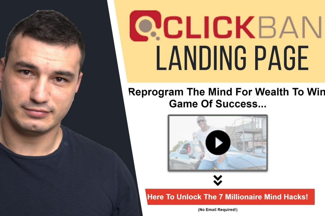 How to Create A Landing Page For Clickbank (Clickfunnels Alternative)